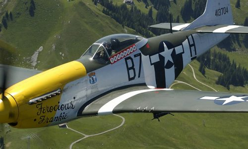 North American P-51D Mustang Ferocious Frankie