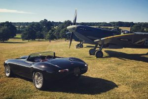 Beautiful images of Jaguar E-Type and MH434